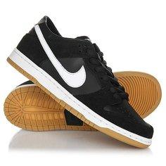Кеды кроссовки низкие Nike Sb Zoom Dunk Low Pro Black/White-Gum