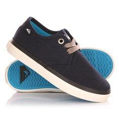 Кеды кроссовки низкие детские Quiksilver Shorebreak B Shoe Blue/White