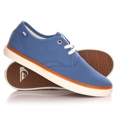 Кеды кроссовки низкие детские Quiksilver Shorebreak Yout B Shoe Blue
