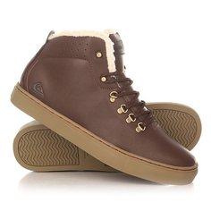 Кеды кроссовки утепленные Quiksilver Jax Deluxe Shoe Brown