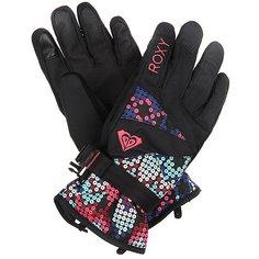 Перчатки сноубордические детские Roxy Rxjettygirlglov Sequin Paradise Pink