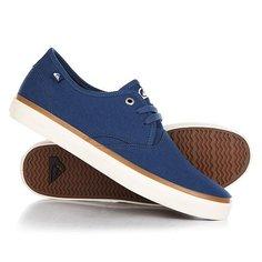 Кеды кроссовки низкие Quiksilver Shorebreak Blue/White