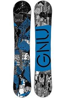 Сноуборд GNU 16 Crbn Crdt 159 Btx Blu