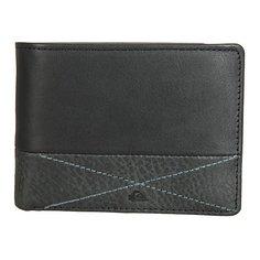 Кошелек Quiksilver New Classical I Black/Cognac Leather