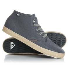 Кеды кроссовки высокие Quiksilver Shorebrkmidesp Grey