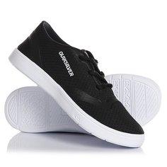 Кеды кроссовки низкие детские Quiksilver Oceanside Black/White