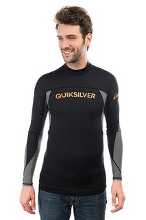 Гидрофутболка Quiksilver Performer Long Black/Quiet Shade