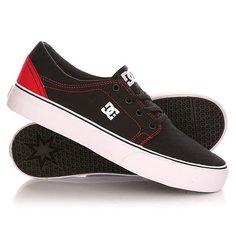 Кеды кроссовки низкие детские DC Trase Tx B Shoe Black/Red