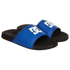 Шлепанцы DC Shoes Bolsa Black/Blue/White