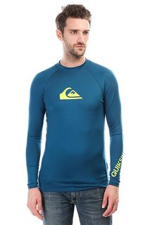 Гидрофутболка Quiksilver All Time Ls Morocco Blue