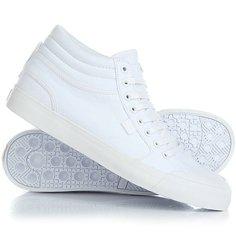 Кеды кроссовки высокие DC Evansmith Hi Tx White