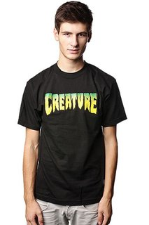 Футболка Creature Logo Black