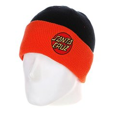 Шапка Santa Cruz Classic Dot Shoreman Black/Orange