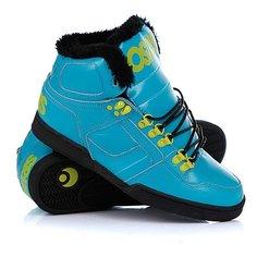 Кеды кроссовки утепленные Osiris Nyc 83 Shr Teal/Lime/Black