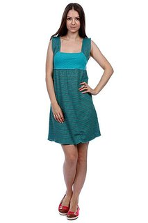 Платье женское Ezekiel Mix It Up Dress Teal