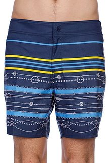Пляжные мужские шорты Stussy Striped Surf Navy