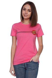 Футболка женская Santa Cruz Classic Dot hot pink