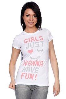 Футболка женская Trailhead  Fun White