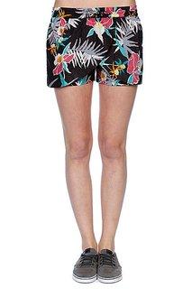 Шорты пляжные женские Stussy Black Hawaii Shorts Black