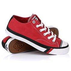 Кеды кроссовки низкие Keds Royal Lo Nubuck Red/Black