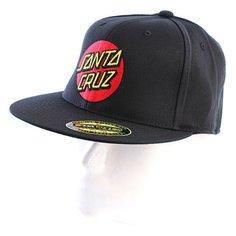 Бейсболка Santa Cruz Classic Dot Ff Black