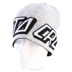 Шапка носок Santa Cruz Strip Dot Heaher Grey/Black