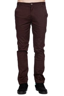 Штаны Enjoi Boo Khaki Slim Straight Chino Brown