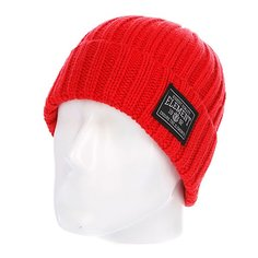 Шапка вязаная Element Counter Beanie Orange Red