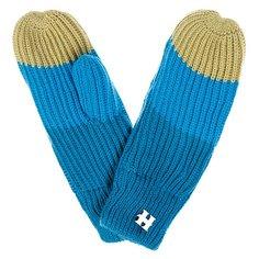 Варежки женские Harrison Beatrice Gloves Blue/Turq/Lime