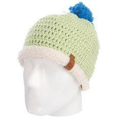 Шапка с помпоном Picture Organic Snowball Beanies Green Light