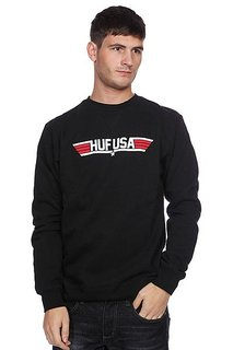 Свитшот Huf Top Huf Crew Black