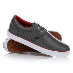 Кеды кроссовки низкие Huf Genuine Charcoal Perf