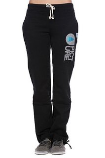Штаны прямые женские Picture Organic Cocoon Women Pants Black