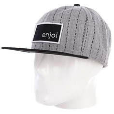 Бейсболка Enjoi Roids Heather Grey