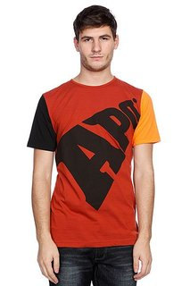 Футболка Apo Bold Regular Rust