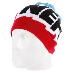 Шапка носок Neff Cartoon Red/White/Blue