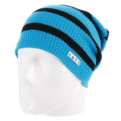 Шапка носок Neff Daily Stripe Cyan/Black