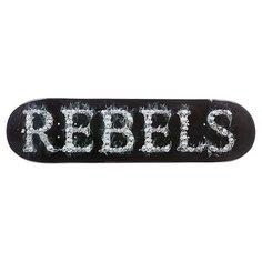 Дека для скейтборда для скейтборда Rebels Logo Skulls 32 x 8.25 (21 см)