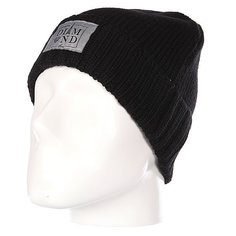 Шапка Diamond Paris City Cuff Fold Beanie Black