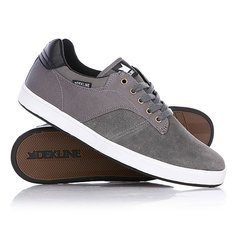 Кеды кроссовки низкие Dekline Dalton Pewter/Black