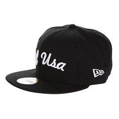Бейсболка New Era Huf Usa NewEra Black