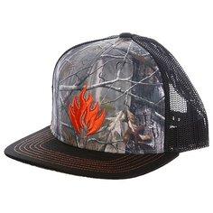 Бейсболка с сеткой Black Label Hunter Trucker Hat