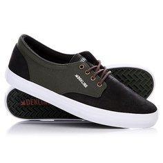 Кеды кроссовки низкие Dekline Mason Black/Rosin