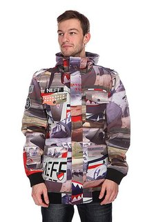 Куртка Neff Warplanes Softshell Grey