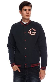 Бомбер Globe First String Jacket Ink Blue