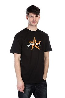Футболка Nor Cal Nautical 2 Black/Orange
