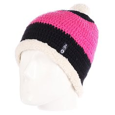 Шапка с помпоном Picture Organic Snowoo Plush Pink