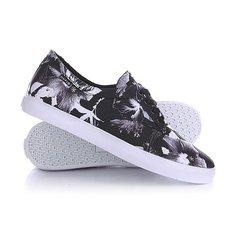 Кеды кроссовки низкие Huf Sutter Black Floral