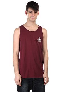 Майка Huf Brotherhood Tank Burgundy