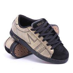 Кеды кроссовки низкие Dekline Logan Gold/Black Scratchatch